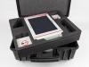 Bequemer, praktischer und robuster Transportkoffer zur Aufbewahrung und zum Transport des Ultraschallgerätes 4Vet