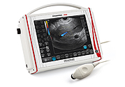 Mehrzweckgerät: ortsfestes und portables veterinärmedizinisches Ultraschallgerät zur Untersuchung von Kleintieren und Pferden