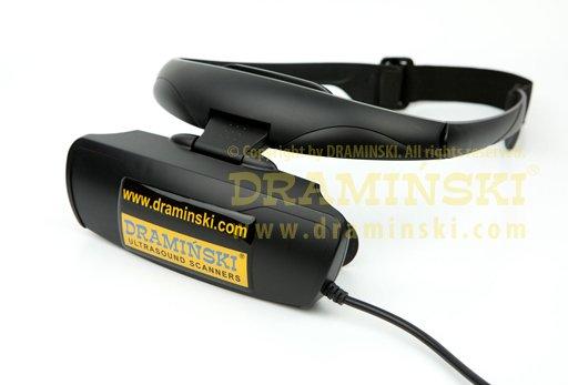 Brille zur Ultraschalldiagnostik bei Kühen/Schweinen/Schafen. Bilddiagnostik, Ultraschalluntersuchung, Brille für portable Ultraschallgeräte