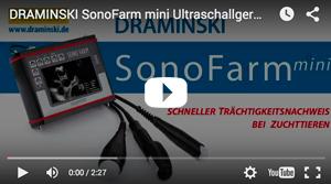 SonoFarm mini Ultraschallgerät zum schnellen Trächtigkeitsnachweis bei Tieren, Werbefilm