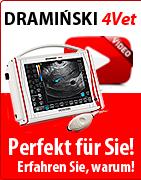 DRAMINSKI 4Vet - Professionelles Veterinärultraschallgerät. Perfekt für Sie! Erfahren Sie, warum!
