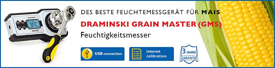 Feuchtigkeitsmesser für Korn, Feuchtigkeitsmesser, Draminski, Draminski GMS