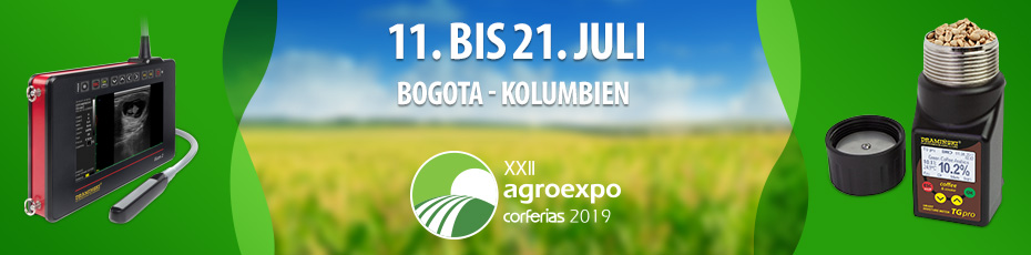 Agroexpo is a traditional, consolidated and mature fair, which has been taking place every two years since 1977 in Corferias.