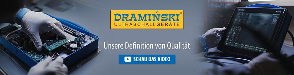 Dramiński ist ein unabhängiger europäischer Hersteller von tragbaren Ultraschallscannern und elektronischen Geräten für die Landwirtschaft